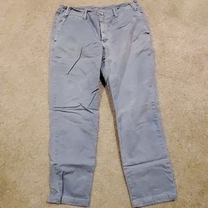 Sun bleached straight fit chino